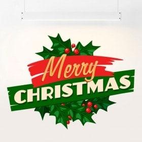 Autoadesivo della buon Natale