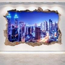 Notte di vinile 3D Dubai