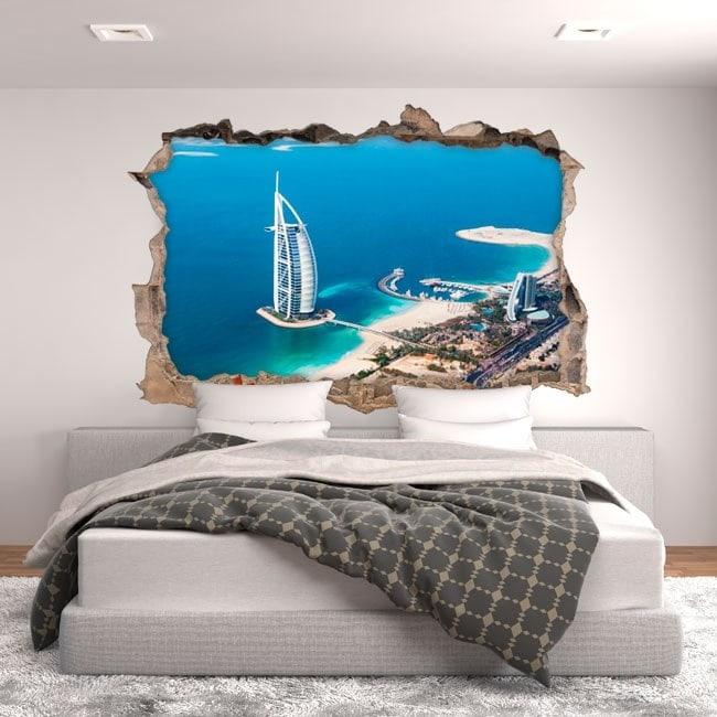 Vinile 3D Burj al Arab Dubai