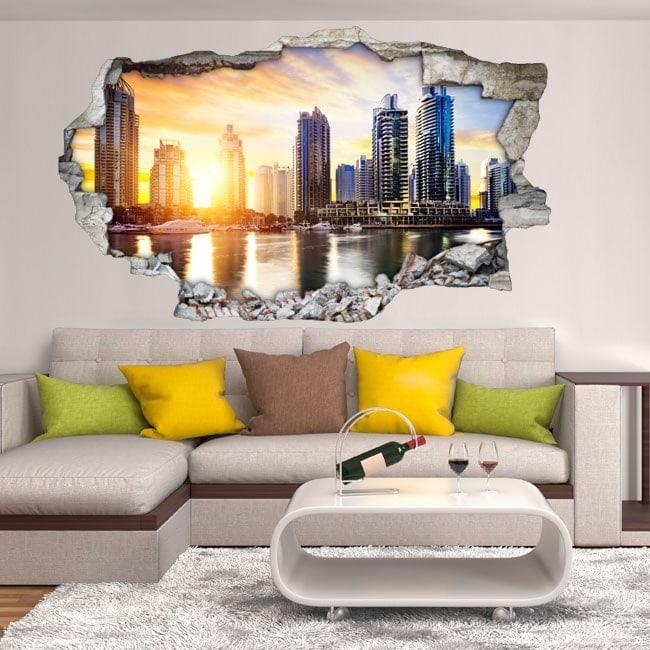 Vinile 3D Puerto Marino Dubai