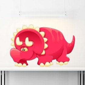 Adesivo di dinosauro del bambino