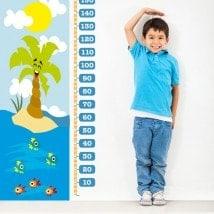 Giorni di mare in vinile per bambini di misura