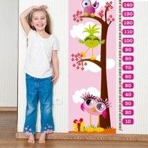 Giornate per bambini in vinile rosa di misura