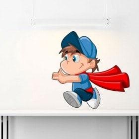 Vinile di Superman bambino bambini