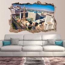 Vinile parete 3D rotante a Las Vegas