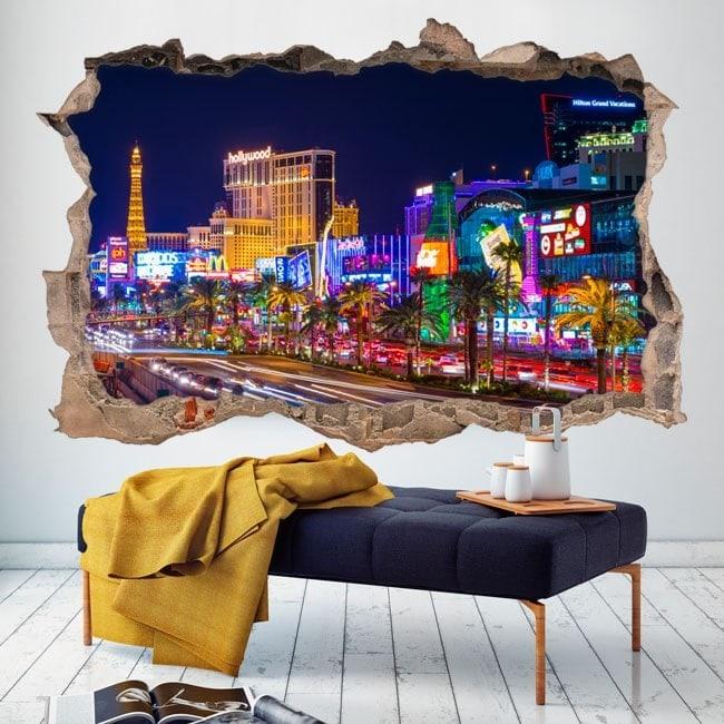 In vinile 3D Las Vegas City