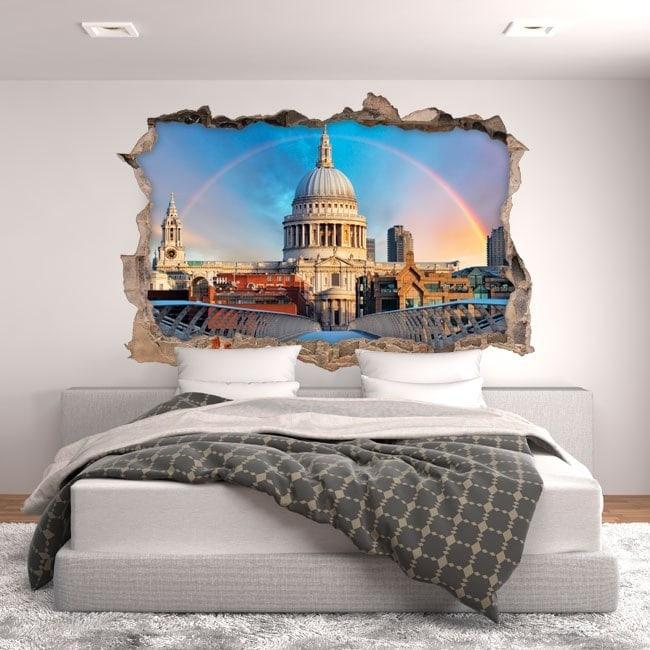 Vinile 3D Rainbow Londra