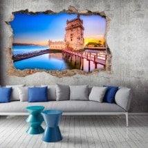 Vinile 3D Portogallo Torre De Belém