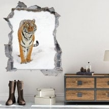 Vinile 3D Siberian Tiger