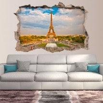 Vinile 3D Parigi Torre Eiffel