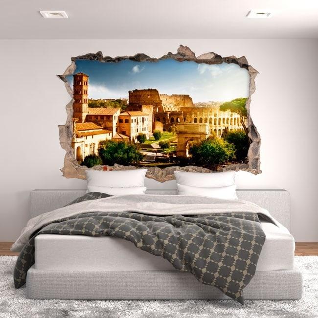 Vinile 3D Colosseo Roma