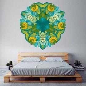 Mandala di wall stickers