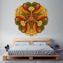 Mandala di pareti di adesivi