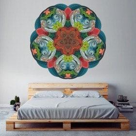 Adesivi da parete Mandala