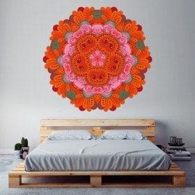 Mandala di vinile per pareti