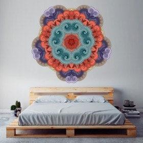 Parete in vinile Mandala
