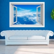 Nuvole di 3D Windows nel cielo