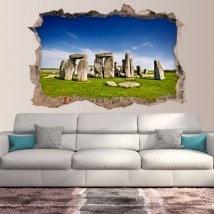 Vinile 3D Stonehenge Inghilterra