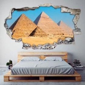 Piramidi 3D vinile di Giza