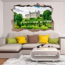 Vinile 3D Castello di Dunrobin Scozia