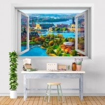 Vinile finestra 3D Stoccolma