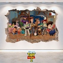 3D Toy Story 2 bambini in vinile