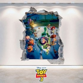 Toy Story 3 in vinile per bambini