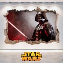 Parete 3D del foro di Star Wars di vinile