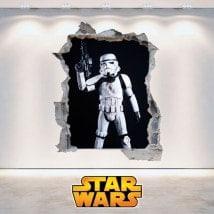 Clone Wars Star vinile soldati 3D
