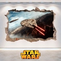 Vinile decorativo 3D di Star Wars