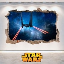 Adesivi da parete Star Wars