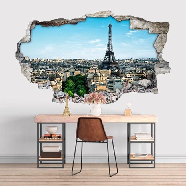 Vinile 3D Torre Eiffel