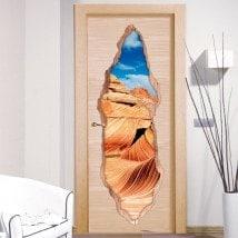 Vinile per l'ondata di porte 3D Arizona