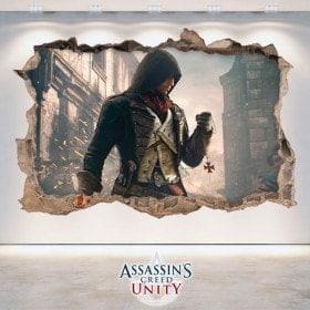 Creed unità vinile decorativo 3D Assassin