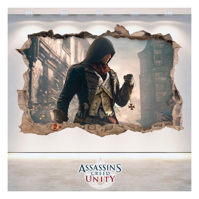 Creed unità vinile decorativo 3D Assassin