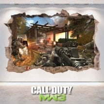 Vinile e adesivi 3D Call Of Duty Modern Warfare 3