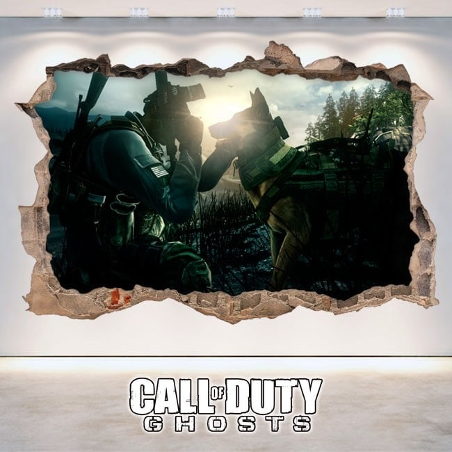 Vinile decorativo 3D Call Of Duty Ghosts