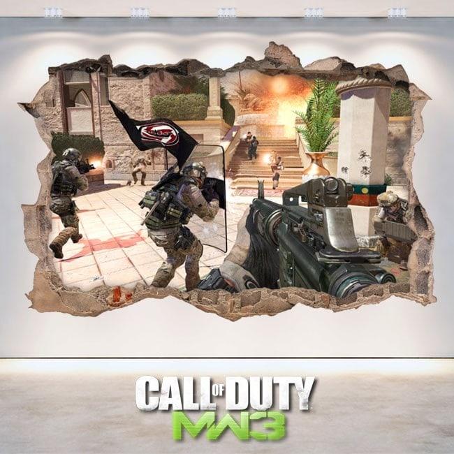 Adesivi 3D Call Of Duty Modern Warfare 3 del gioco