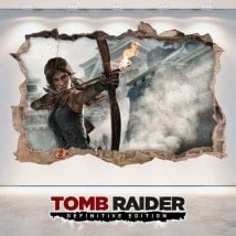 Vinile video gioco 3D Lara Croft Tomb Raider edizione definitiva