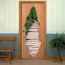Modo di porta in natura per vinili