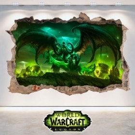 Mondo 3D vinile della Legione di Warcraft