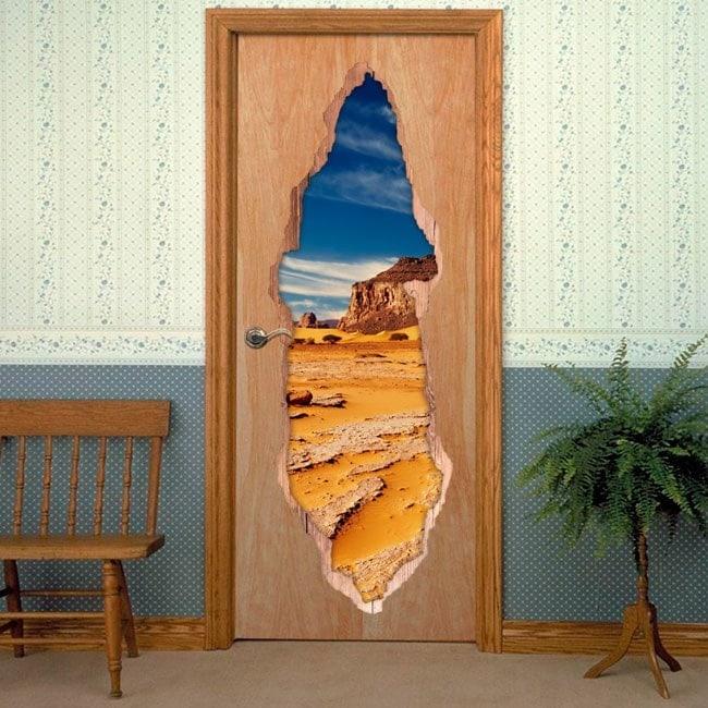 Il vinile di porta del deserto del Sahara