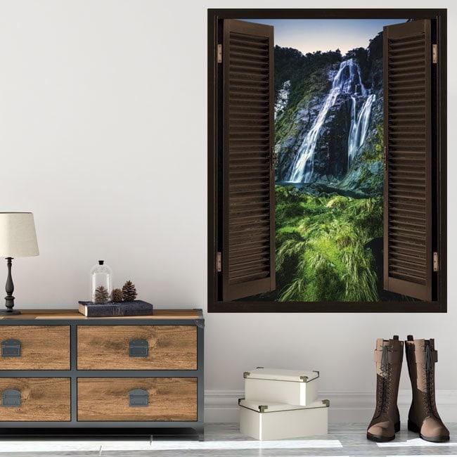 Windows in Cascate 3D vinile
