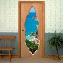 Vinile porte 3D Monterosso al Mare