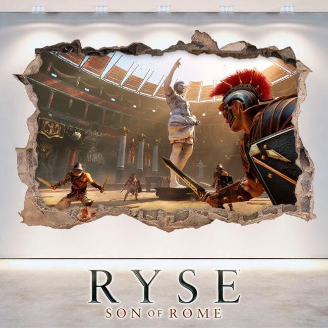 Vinile e adesivi 3D Ryse figlio di Roma