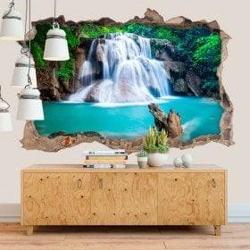 Decorativi cascate Huay Mae Kamin 3D