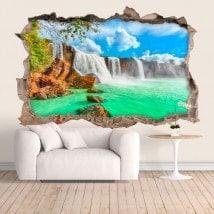 Cascate di vinile parete Dray Nur 3D