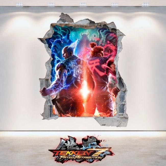Vinile decorativo 3D Tekken 7