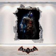 Vinile decorativo 3D Batman Arkham Knight Italian 6096