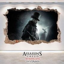 Creed Syndicate di vinile 3D Assassin Jack lo Squartatore